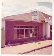 Fachada - Avenida 7 de setembro - Ano de 1974
